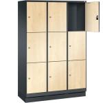 Houten lockers (EVOLO)