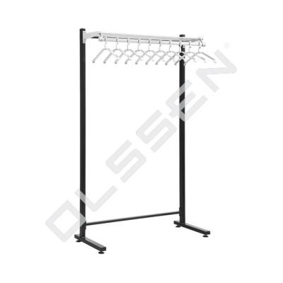 ALFALUX Enkelzijdig Garderoberek met hangers (Type 10)