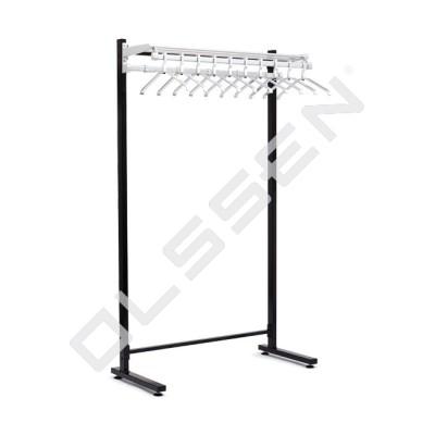 ALFALUX Enkelzijdig Garderoberek met hangers en haken (Type 13)